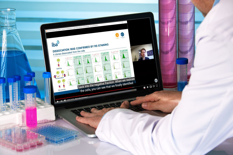 IBA Lifesciences webinars